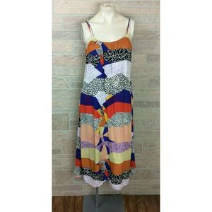 The Odells Patch Boho Dress Large Pockets